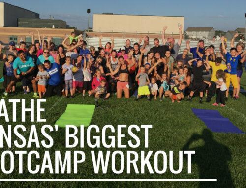 Olathe Kansas' Biggest Bootcamp Workout